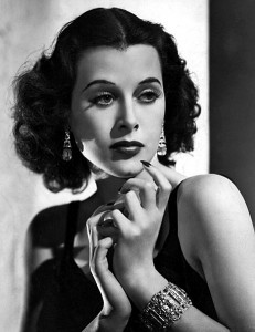 "Hedy Lamar in 1938 ""The most beautiful woman in the world"""